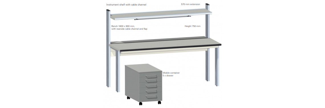 Primus Basic ESD safe workbench