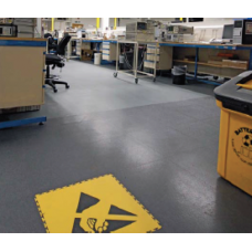 ESD-safe floor tile | 7mm thickness | 50x50cm
