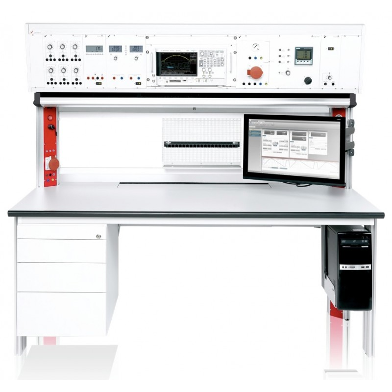 Modular measuring/testing benches