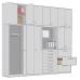 Wall cabinets   Elabo   modular   extendable