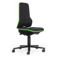 9563E Neon 2 ESD-safe workchair | permanent contact | casters | excl. upholstery