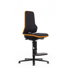 9571E Neon 3 ESD-safe workchair | synchron | glides | high version | excl. upholstery