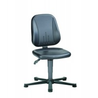9650E ESD-safe workchair | glides | permanent contact mechanism