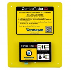 Combo Tester X3 Personnel grounding tester with acoustic/visual OK/Fail signal