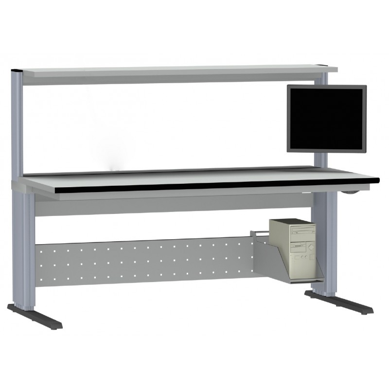 ESD-safe electric workbenches