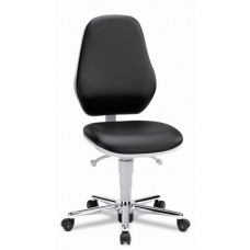9142 Cleanroom Basic 2 / workchair for cleanrooms / tilting seat